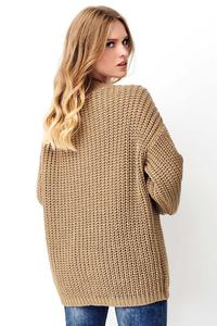 Nut Oversized English Stitch Sweater