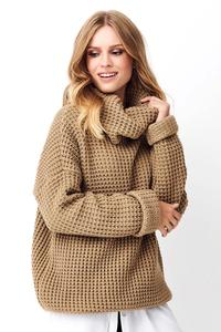 Nutty Oversize Turtleneck Sweater from Golfe