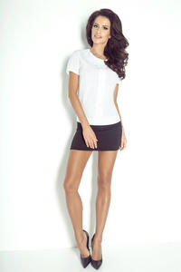 Black Super Slim Bodycon Fit Mini SKirt