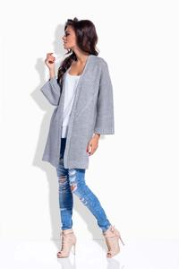 Light Grey Loose&Long Cardigan