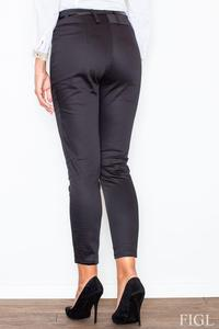 Black Classic Slim Tailored Cigarette Trousers