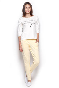 Yellow Comfy Hipster Long Pants