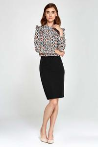 Black Classic Pencil Skirt