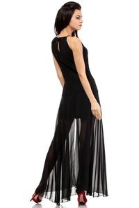 Black Elegant Maxi Evening Dress