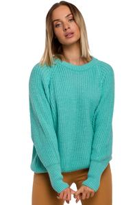 Simple Long Sleeve Sweater (Green)