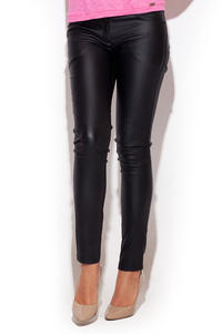 Black Skinny Fit Pants with Twin Hip Pockets