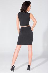 Black Bodycon Fit Mini Skirt