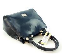 Dark Blue Elegant Trunk Ladies Bag