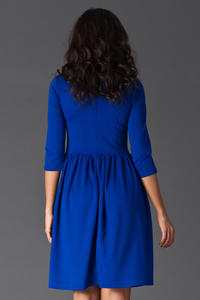 Blue Sassy Full Swing Ruby Dress