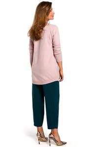 Pink Sweater-Tunic with turtleneck