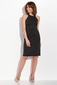 Black Halterneck Coctail Dress