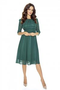 Green Evening Long Sleeves Dress