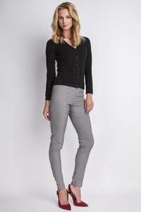 Houndstooth Hight Waist Elegant Pants