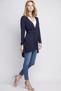 Dark Blue Stylish Ladies Cardigan