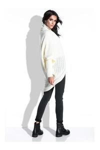 Ecru Bat Sleeves Cardigan