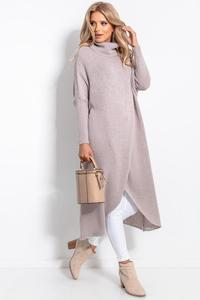 Mocca Turtleneck Long Sweater