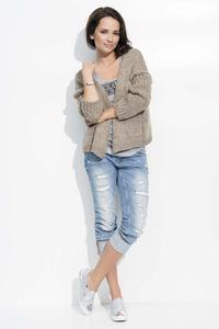Cappuccino Short Ladies Cardigan