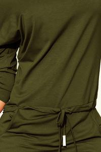 Sports Dress Drawstring Waist - Khaki