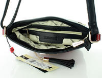 Blackk Padded Design Long Strap Bag