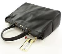 Black Classic Hand/Shoulder Ladies Bag