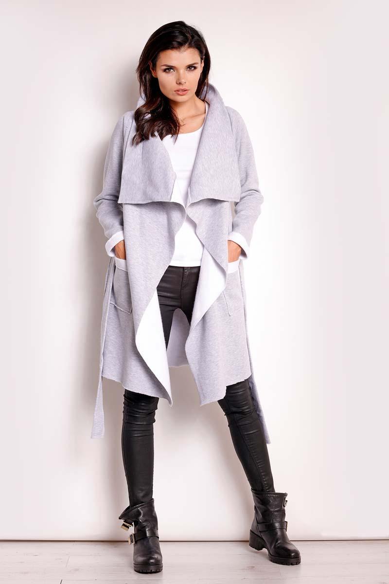grey-loose-lapels-belted-coat