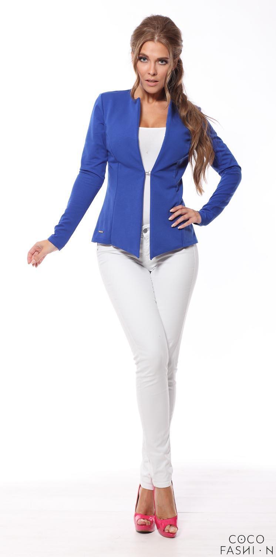 blue-classic-slim-waist-blazer