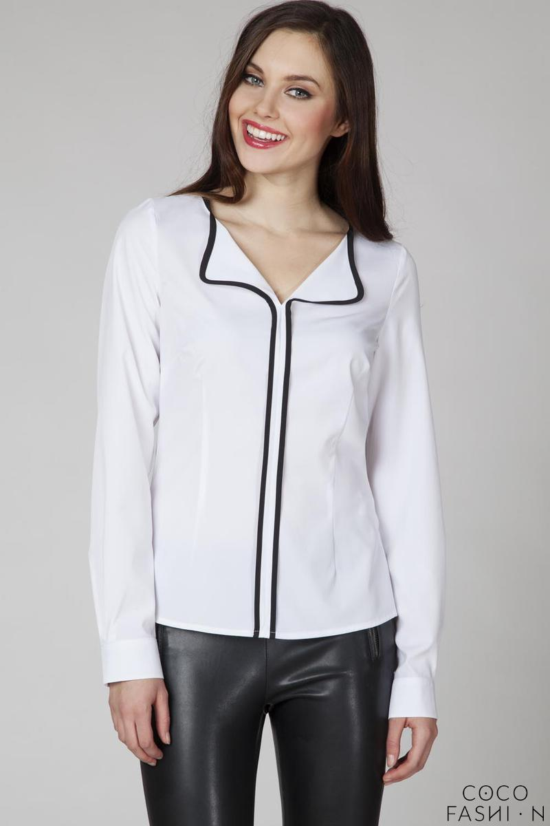 white-elegant-blouse-with-contrasting-black-piping