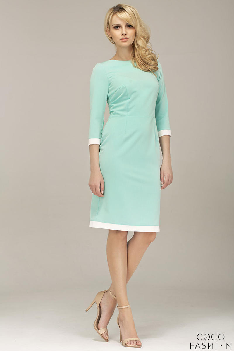 mint-green-corporate-look-chic-dress