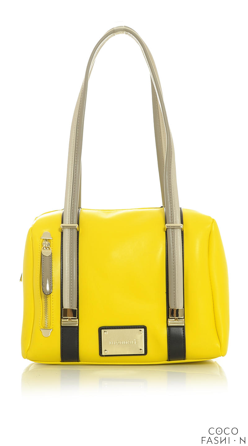 yellow-comfy-long-striped-handles-bag