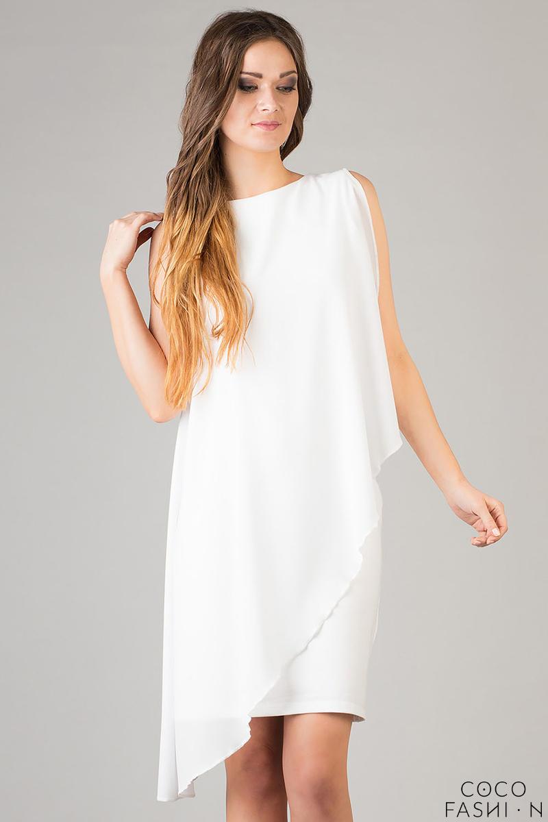 white-dress-asymmetrical-with-veil